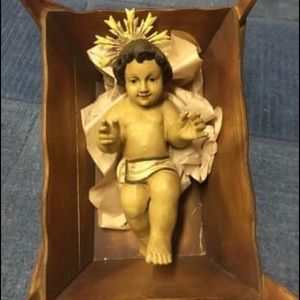 Wisteria handmade nativity set